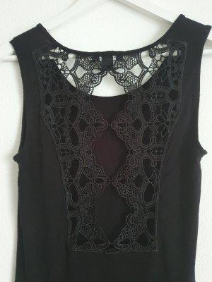 Amisu Robe stretch noir