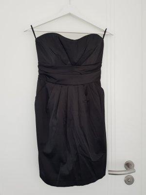 Amisu Robe épaules nues noir
