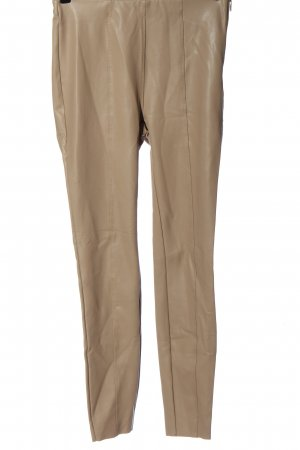 Amisu Faux Leather Trousers natural white casual look