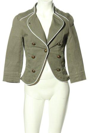 Amisu Korte blazer khaki casual uitstraling