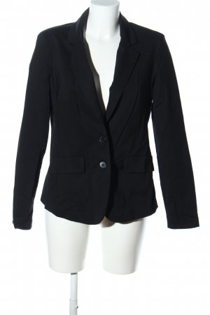 Amisu Kurz-Blazer schwarz Business-Look