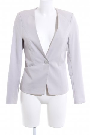 Amisu Kurz-Blazer hellgrau Business-Look