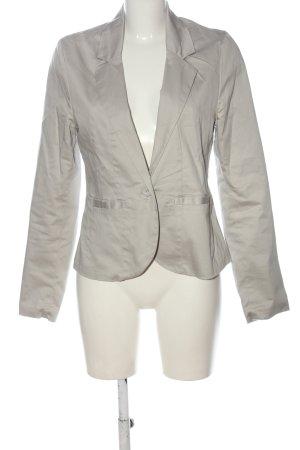 Amisu Korte blazer lichtgrijs zakelijke stijl