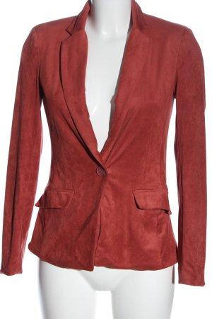 Amisu Korte blazer rood casual uitstraling