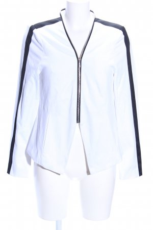 Amisu Kurz-Blazer weiß-schwarz Casual-Look