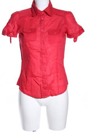 Amisu Short Sleeve Shirt red casual look