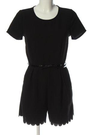 Amisu Kurzer Jumpsuit black elegant
