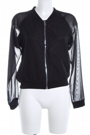 Amisu Short Jacket black casual look