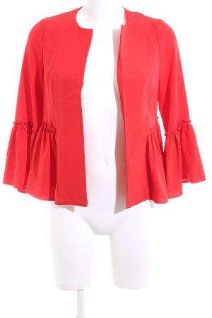 Amisu Short Jacket red casual look