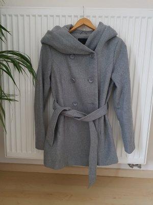Amisu Manteau à capuche gris