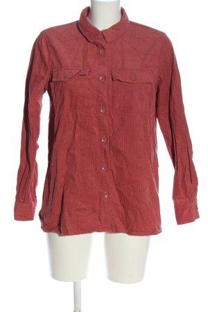 Amisu Long Sleeve Shirt red casual look