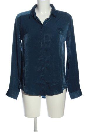 Amisu Langarmhemd blau Casual-Look