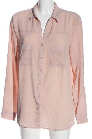 Amisu Langarmhemd pink Business-Look