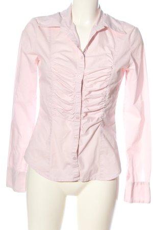 Amisu Langarmhemd pink Casual-Look