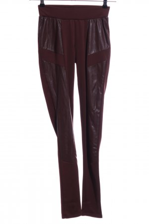 Amisu Leggings braun Casual-Look