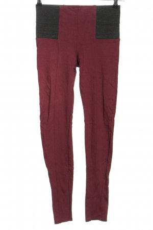 Amisu Leggings pink-schwarz Casual-Look