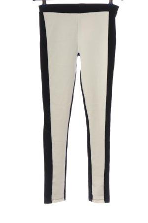 Amisu Leggings schwarz-weiß Casual-Look