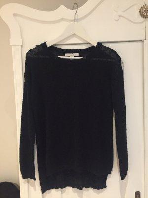 Amisu leicht transparenter Pullover