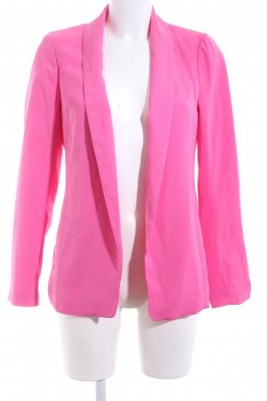 Amisu Long-Blazer pink Casual-Look