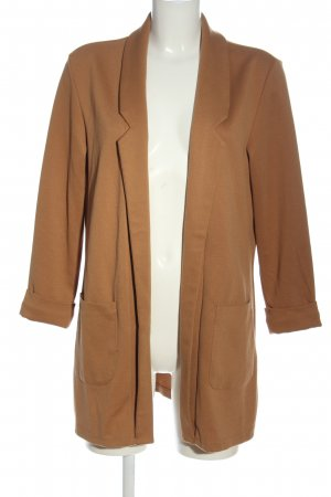 Amisu Long-Blazer braun Business-Look
