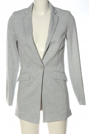 Amisu Long-Blazer hellgrau Business-Look