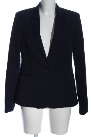 Amisu Long-Blazer blau Business-Look
