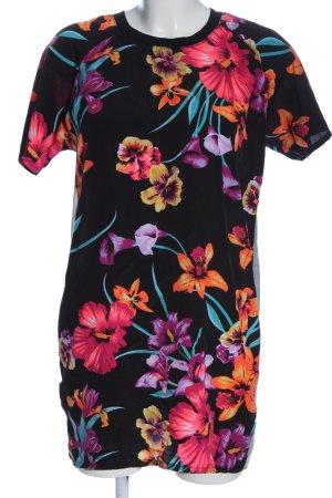 Amisu Long Shirt flower pattern casual look