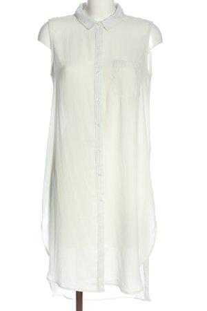 Amisu Long-Bluse weiß Casual-Look