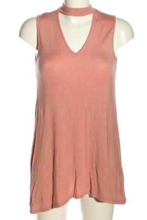 Amisu Lange top roze Gemengd weefsel
