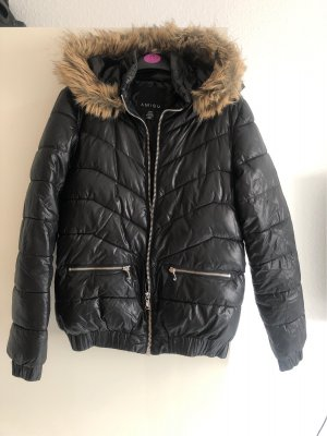 Amisu Hooded Coat black