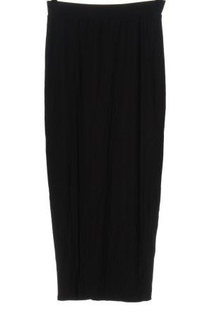 Amisu Maxi Skirt black business style