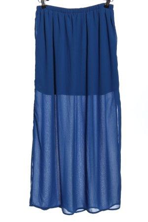Amisu Maxi rok blauw casual uitstraling