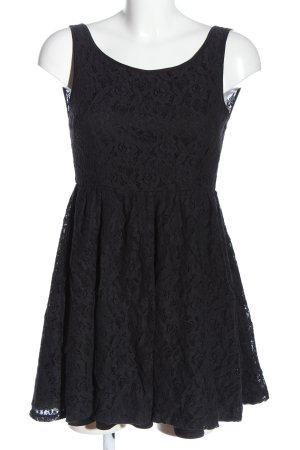 Amisu Mini Dress black casual look