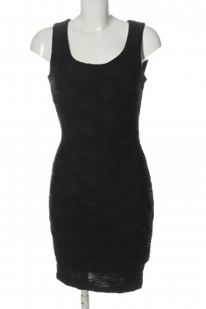 Amisu Mini Dress black allover print casual look