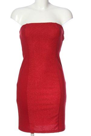 Amisu Minikleid rot Elegant
