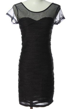 Amisu Minikleid schwarz klassischer Stil
