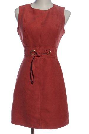 Amisu Sukienka mini czerwony W stylu casual