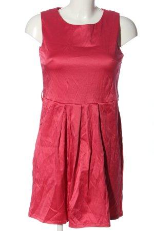 Amisu Robe courte rouge style décontracté