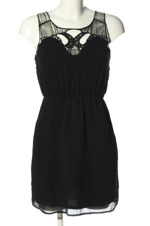 Amisu Minikleid schwarz Elegant