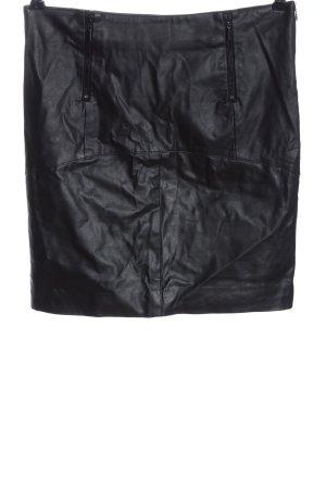 Amisu Spódnica mini czarny W stylu casual