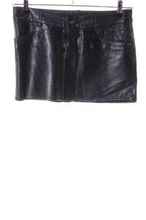 Amisu Miniskirt black extravagant style