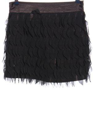 Amisu Minirock schwarz Elegant