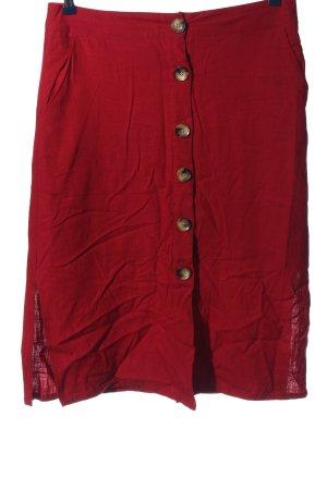 Amisu Minigonna rosso stile casual