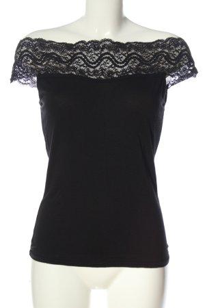 Amisu Muscle Shirt black casual look