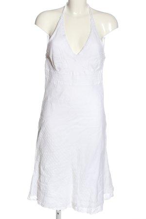Amisu Halter Dress white casual look