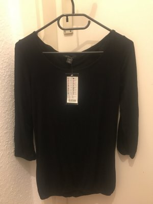 Amisu Blusa Camisa negro Poliéster