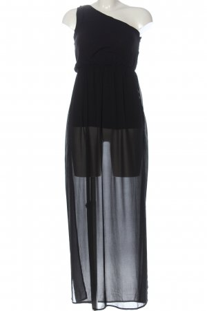 Amisu One Shoulder Dress black elegant