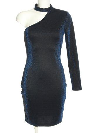 Amisu One-Shoulder-Kleid blau Elegant