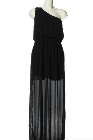 Amisu One-Shoulder-Kleid schwarz Elegant