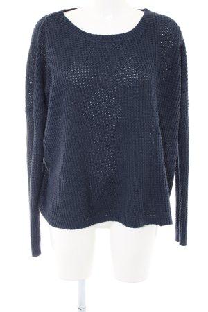 Amisu Oversized Pullover blau Casual-Look